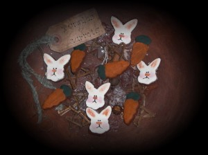 bunniesandcarrots 300x224 Getting Ready for a Primitive Easter?