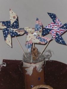 apr16006 225x300 Americana Primitive Decorations for Memorial Day and The Fourth of July