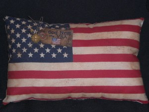 cimg0419 300x225 Americana Primitive Decorations for Memorial Day and The Fourth of July