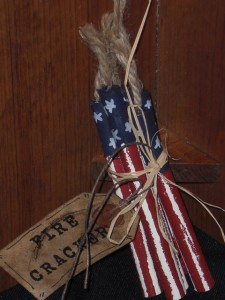 cimg3217 225x300 Americana Primitive Decorations for Memorial Day and The Fourth of July