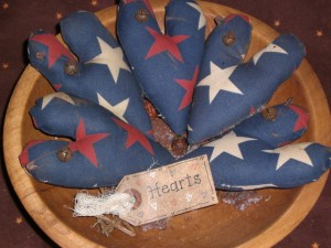 mar26a003 300x225 Americana Primitive Decorations for Memorial Day and The Fourth of July