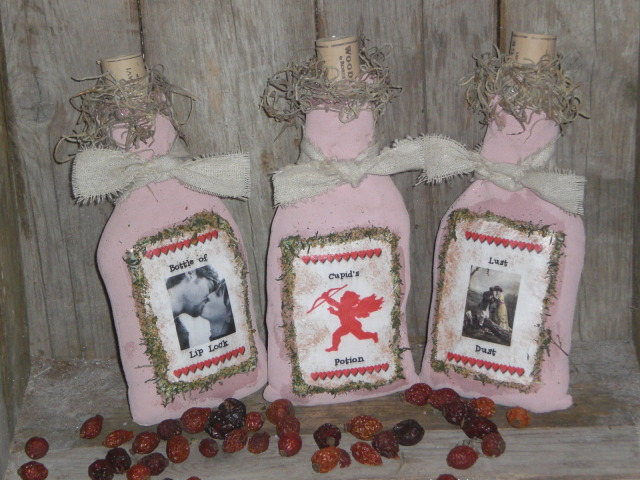 primitive valentines day decorations
