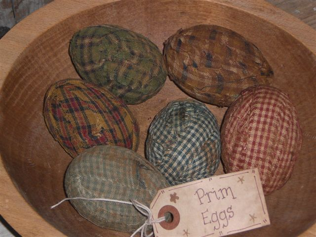 Primitive Easter Eggs