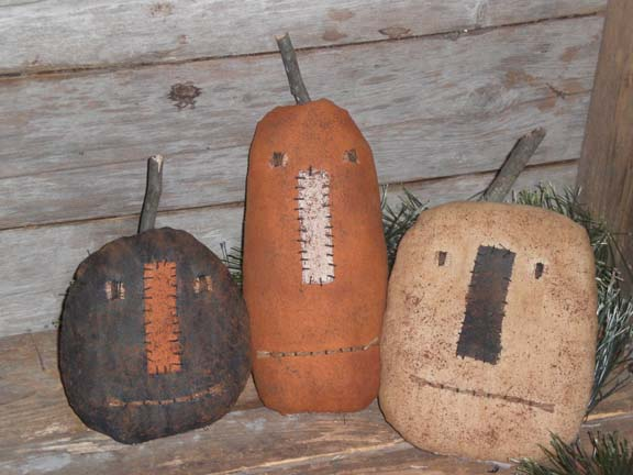 Primitive Halloween Pumpkins Are you ready for a Primitive Halloween?